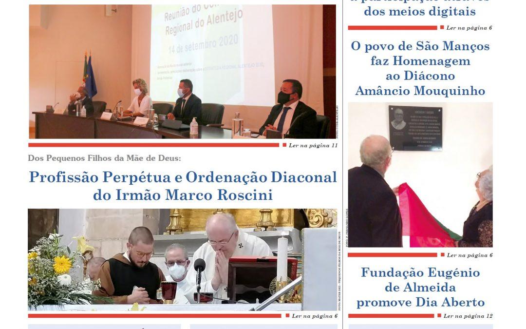"""Edição do jornal """"a defesa"""" – 23 de Setembro de 2020"""