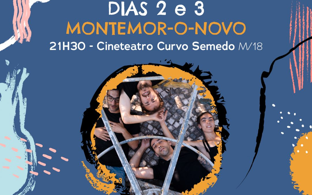 Montemor-o-Novo: Mês do Teatro arranca com produção da Alma D´Arame