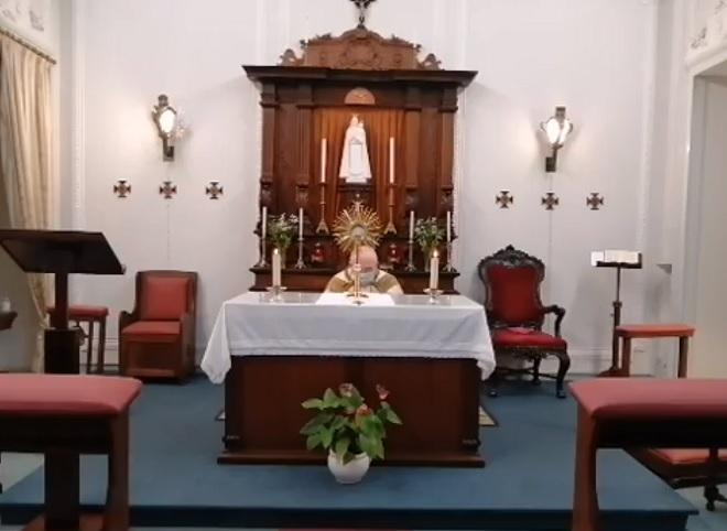 4 de março: Arcebispo de Évora presidiu à Adoração pelas Vocações