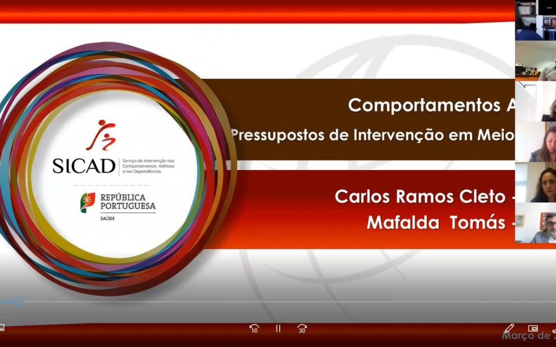 CRI do Alentejo Central dinamiza ação de capacitação sobre intervenção em Meio Laboral na Universidade de Évora