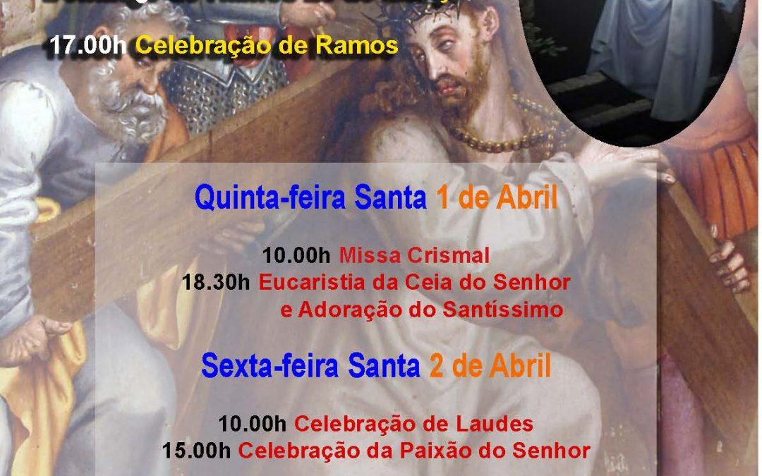 28 de Março, 1, 2 e 3 de abril: Celebrações da Semana Santa na Catedral de Évora