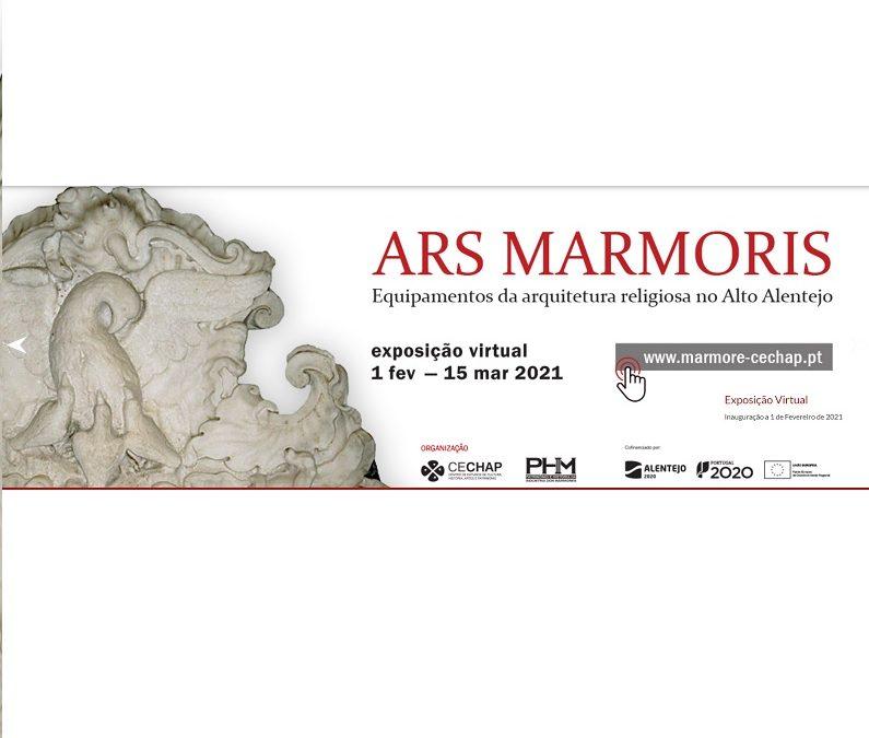 Exposição virtual «ARS MARMORIS – Equipamentos da Arquitectura religiosa no Alto Alentejo»