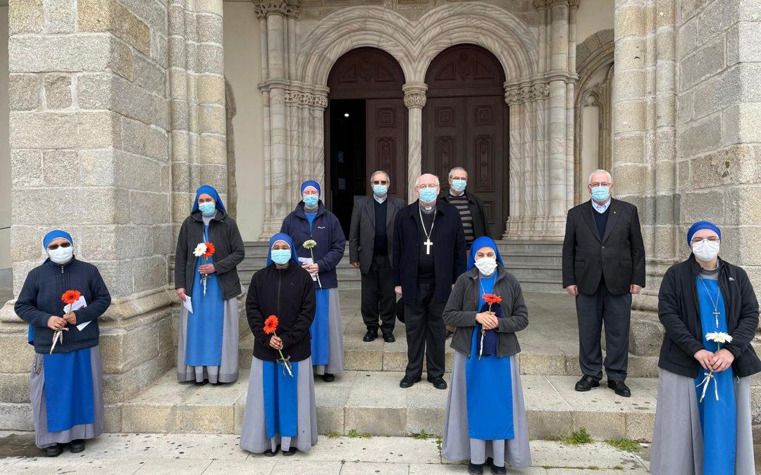 5 de Março: Arcebispo de Évora recebeu as Irmãs Servidoras do Senhor e celebrou Eucaristia na Igreja de São Francisco (Com Vídeo e Fotogaleria)