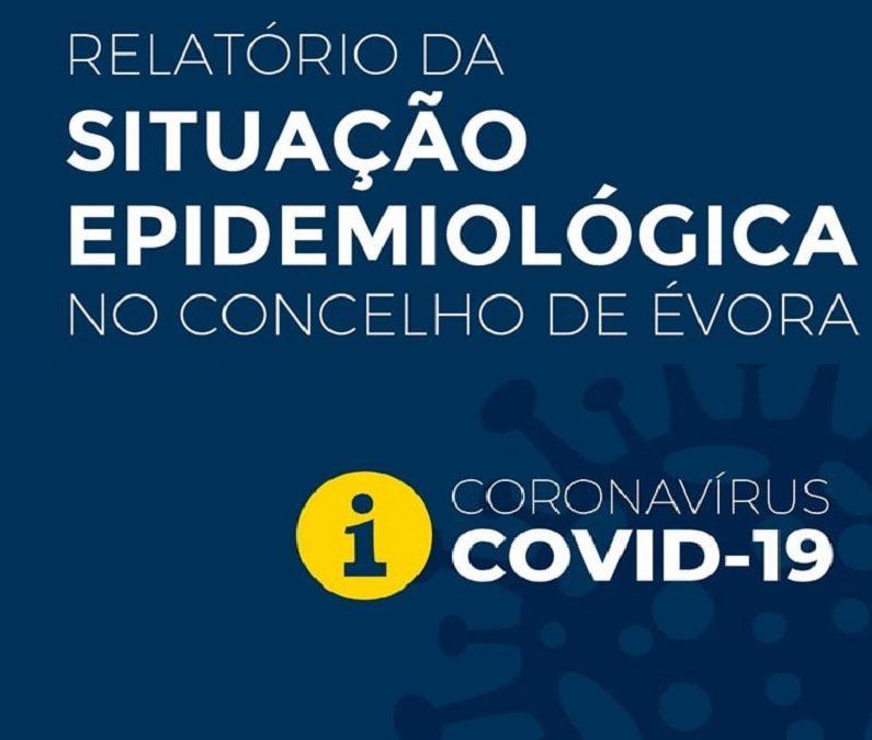 Covid-19 – 1 de março de 2021: 45 casos ativos no Concelho de Évora