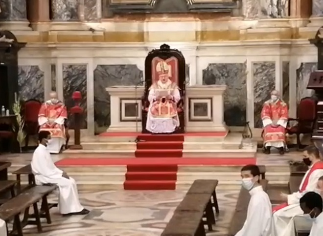 Homilia do Arcebispo de Évora no Domingo de Ramos (28 de Março de 2021)