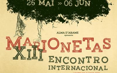 26 de Maio a 6 de Junho: 13º Encontro Internacional de Marionetas