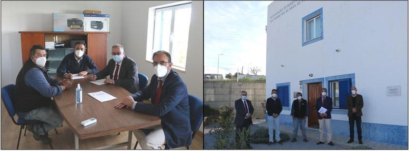 Município de Estremoz assina contrato de comodato com Associação de Beneficiários do Perímetro de Rega de Veiros