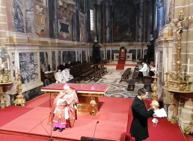 Sexta-feira Santa, às 10h00: Oração de Laudes na Catedral de Évora