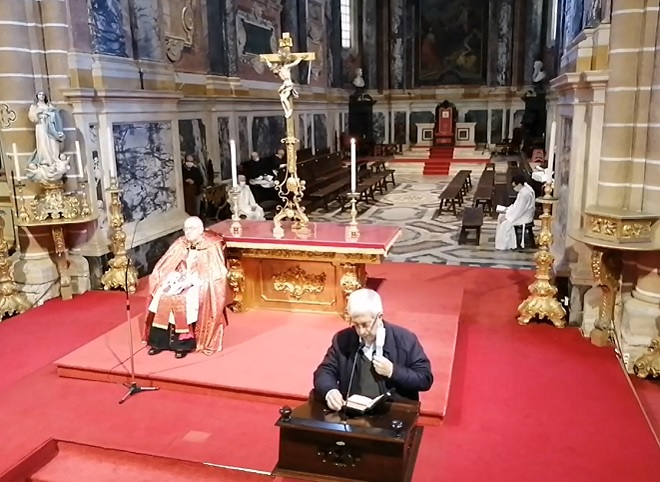 Sábado Santo, às 10h00: Oração de Laudes na Catedral de Évora