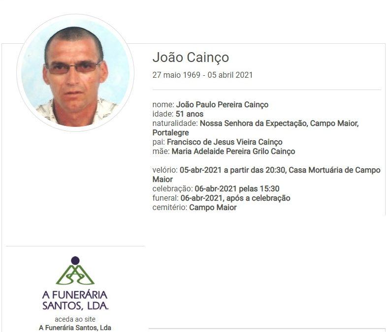 Campo Maior: Faleceu o sr. João Cainço