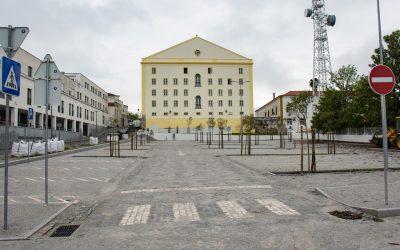 17 de Abril: Novo Parque de Estacionamento do Teatro Garcia de Resende abre ao público