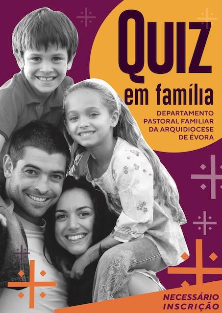 Dia 9 de abril, às 21h30: Quiz em Família (com inscrição obrigatória)