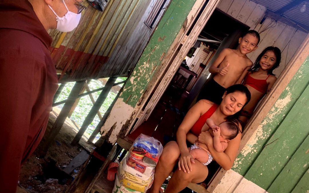 """BRASIL: """"Só há fome e desemprego"""" na Amazónia, denuncia frade capuchinho face à crise provocada pelo Covid19"""