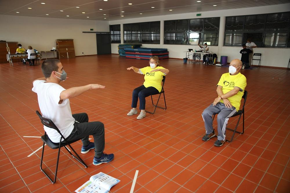 Clube de Saúde Sénior faz avaliações intermédias