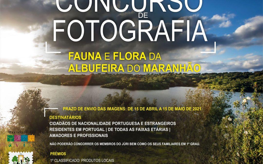 """Município de Avis promove concurso de fotografia """"Fauna e Flora da Albufeira do Maranhão"""""""