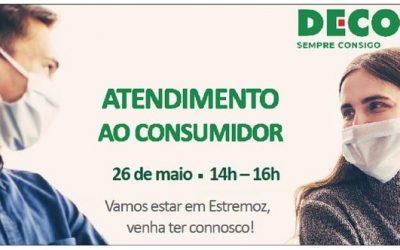 DECO ATENDE EM ESTREMOZ
