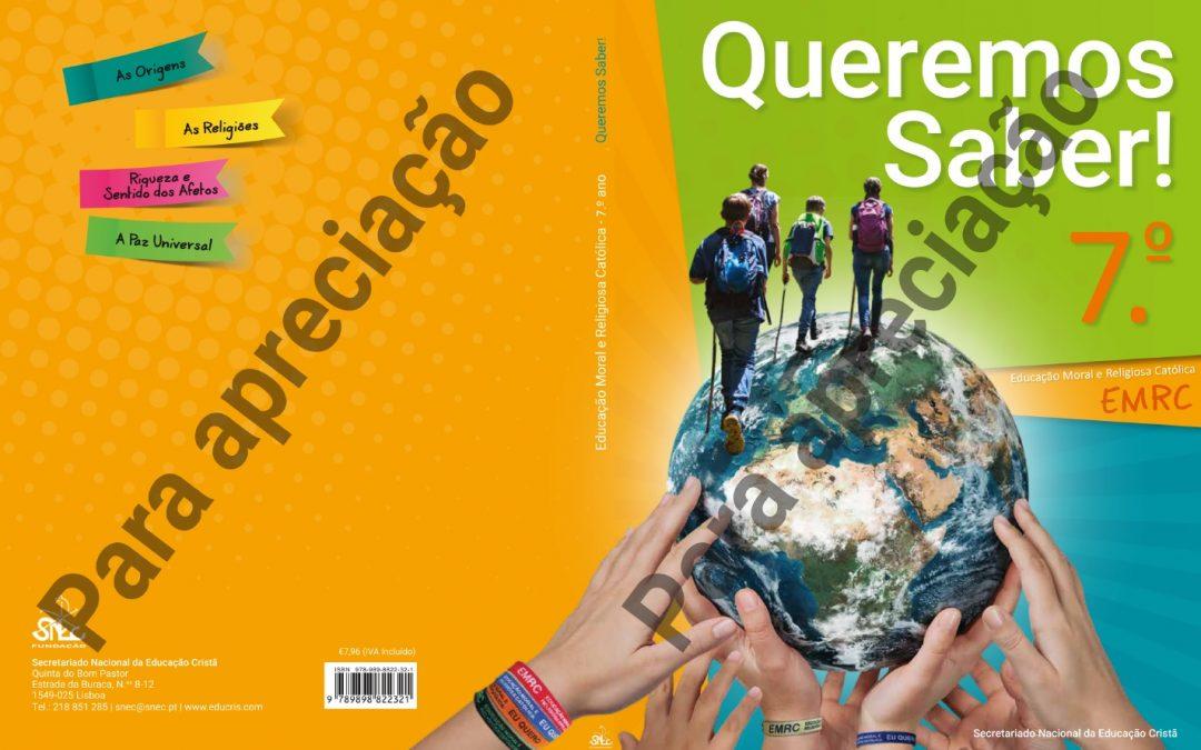 EMRC: Novos manuais já disponíveis para apreciação