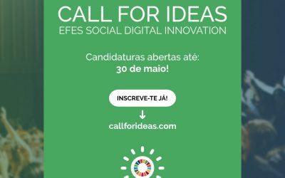 Candidaturas até 30 de maio: Fundação Eugénio de Almeida lança uma nova edição do EFES SOCIAL DIGITAL INNOVATION