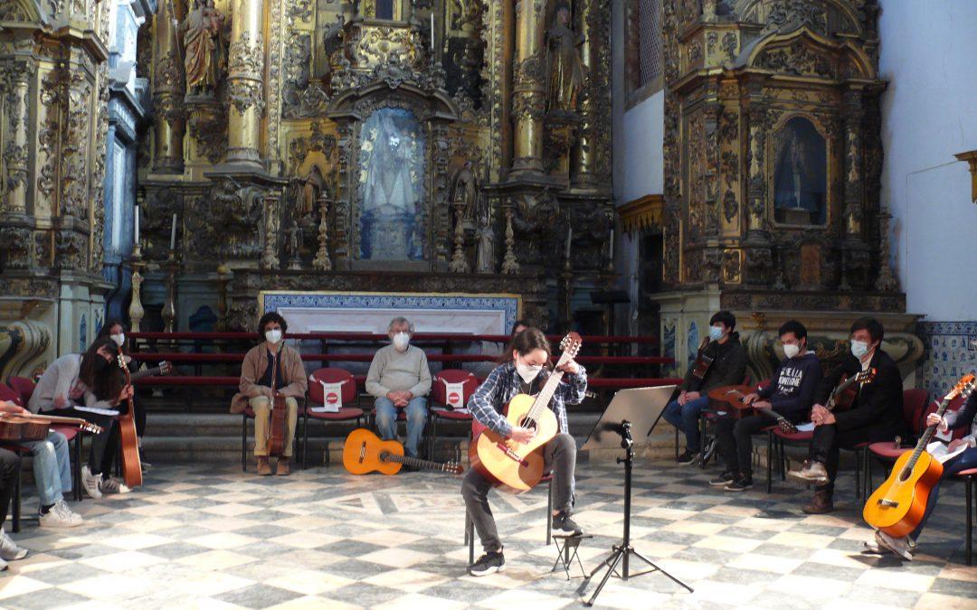 """""""Eborae Mvsica""""- Associação Musical de Évora promoveu  uma MasterClass de guitarra"""