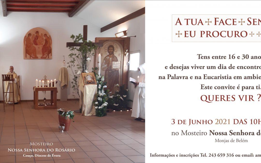 3 de Junho: Monjas de Belém convidam os jovens a um dia de Encontro com Cristo