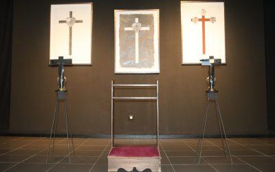 """MUSEU DOS CRISTOS ACOLHE EXPOSIÇÃO """"CORPO DA CRUZ"""" DE JOSÉ ROSINHAS (com fotos)"""