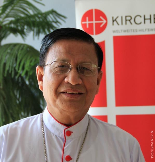 """MIANMAR: Cardeal Charles Bo condena ataque do exército em Igreja e fala em """"tragédia humanitária"""""""