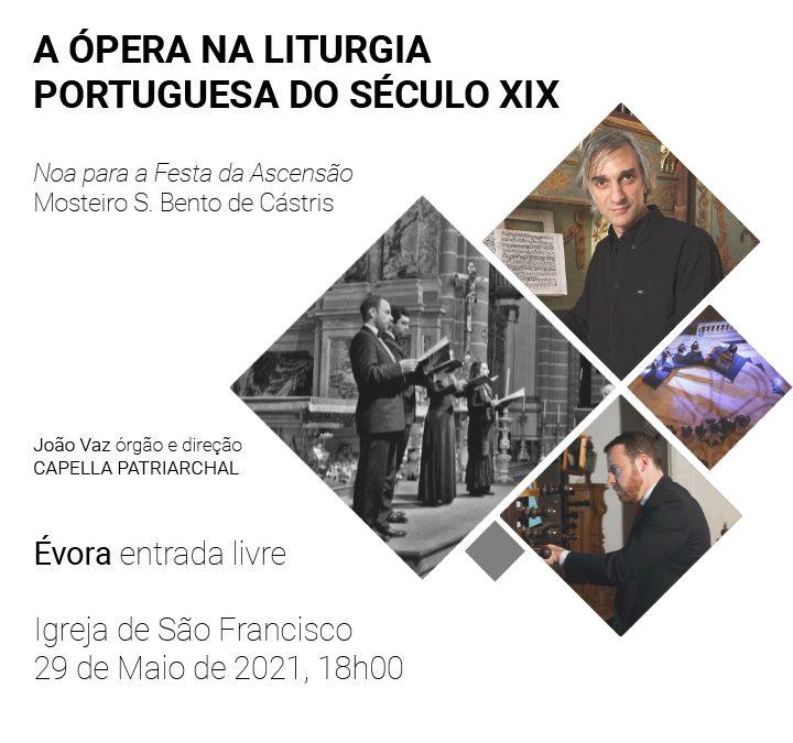 29 de maio, às 18h, em direto: Concerto de órgão e canto na Igreja de São Francisco