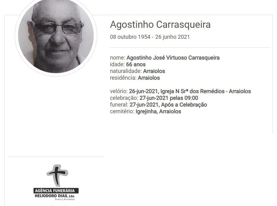 Arraiolos: Faleceu o sr. Agostinho Carrasqueira