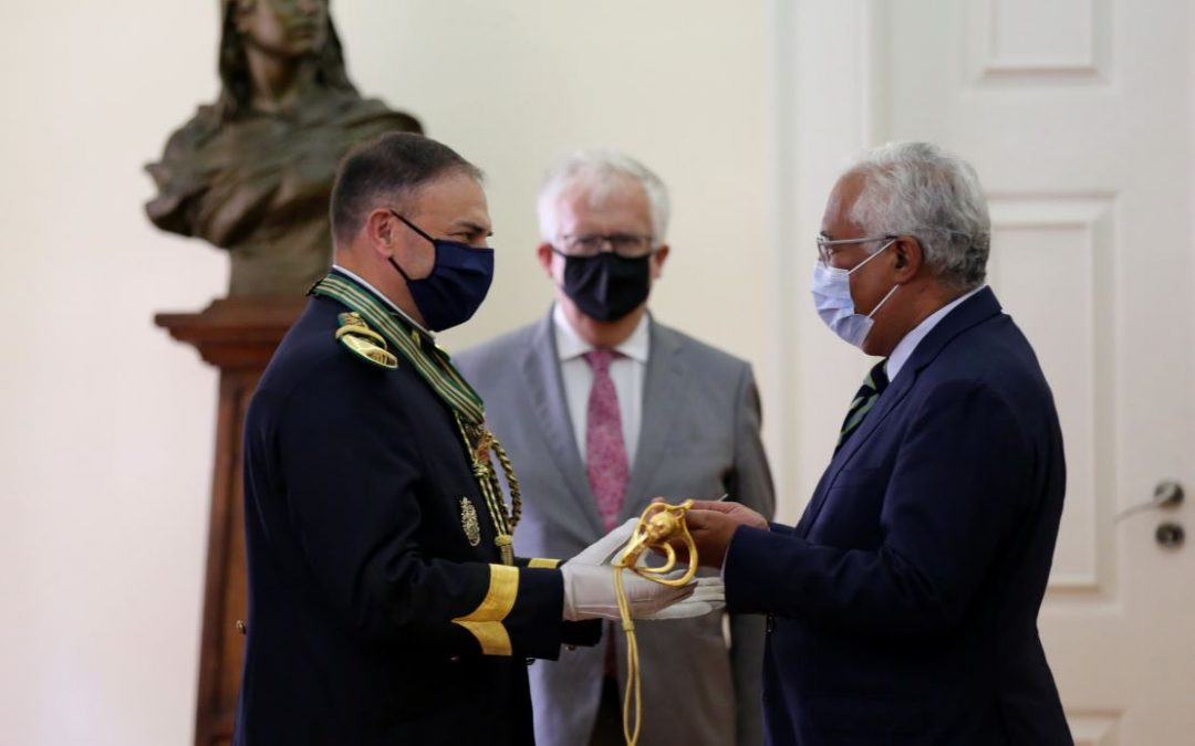 Cerimónia de Promoção e Graduação ao Posto de Brigadeiro-general e entrega de Espada de Oficial General