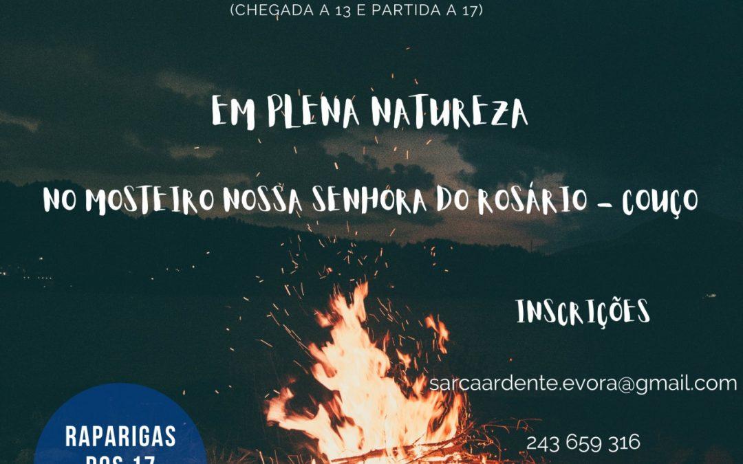 """14 e 16 de Julho: Campo de Férias e Oração """"Sarça Ardente"""""""