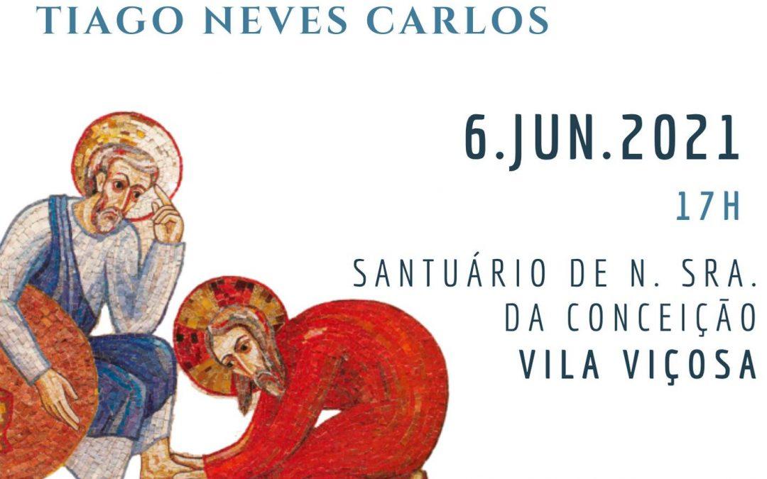 6 de Junho: Ordenação Diaconal de Tiago Carlos
