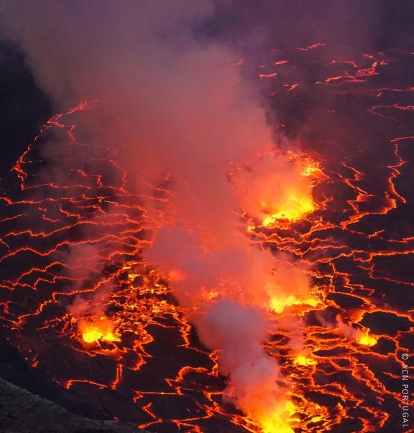 RD CONGO: Fuga das populações após erupção vulcânica na região oriental provoca risco de crise humanitária