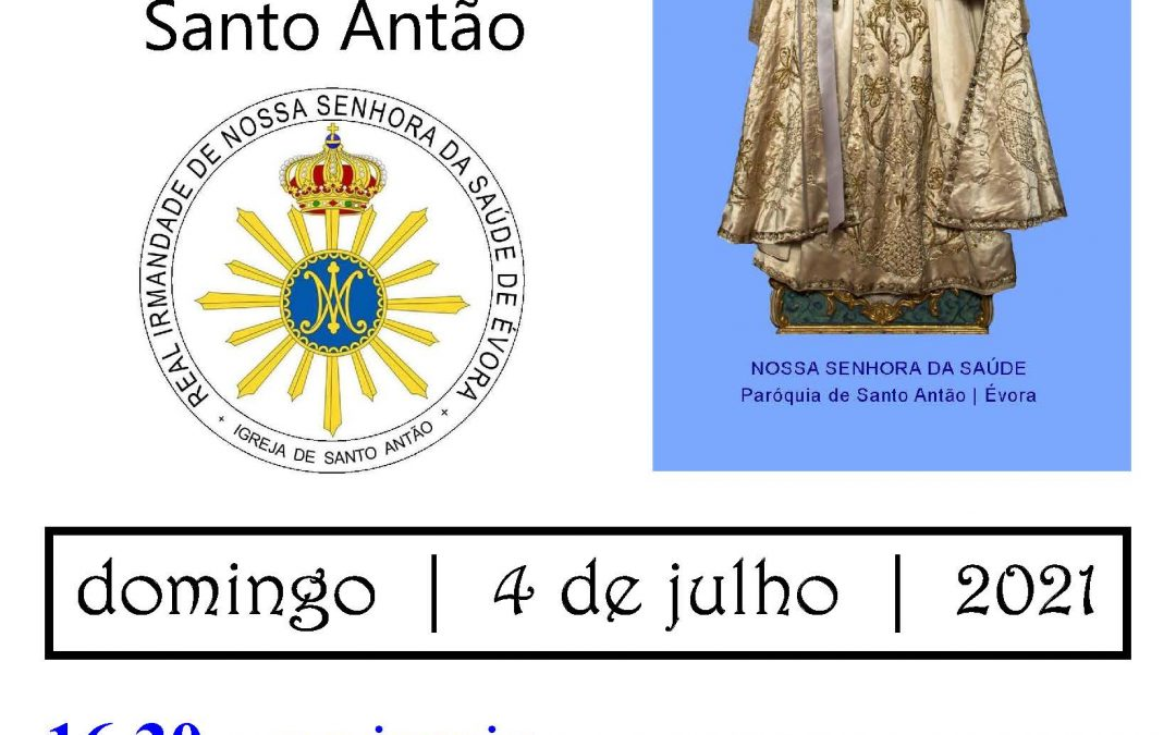 4 de julho/Ser Igreja: Festa de Nossa Senhora da Saúde em Évora em destaque (Podcast)