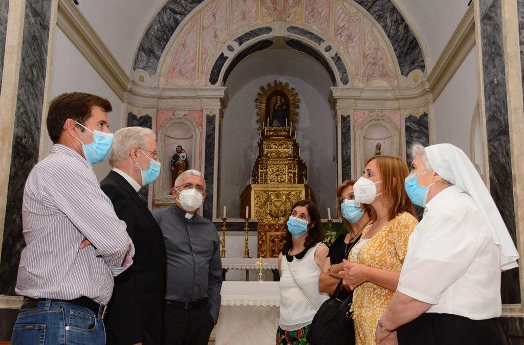 Altares restaurados na Igreja Matriz de Monforte – Santa Maria da Graça