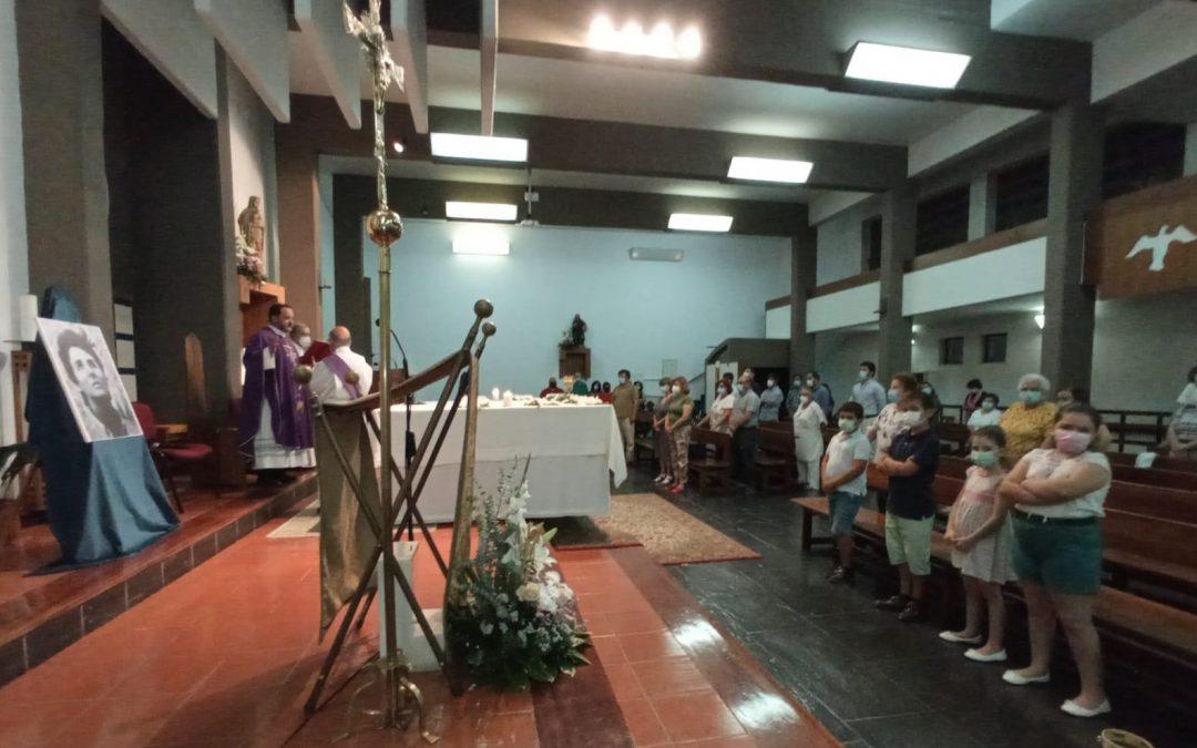 Eucaristia pelo 5º Aniversário da morte de Carmen Hernández celebrada em Évora