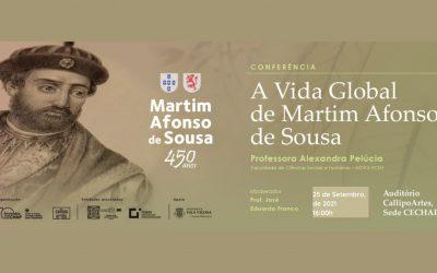"""Adiamento Conferência """"A Vida Global do Martim Afonso de Sousa"""""""