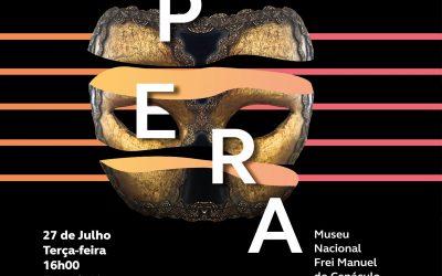 27 de Julho, às 16h: Recital Comentado de Árias de Ópera no Museu Nacional Frei Manuel do Cenáculo