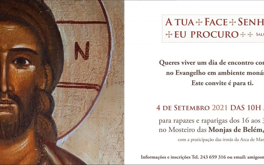 4 de Setembro: Monjas de Belém convidam jovens a um dia de encontro com Jesus