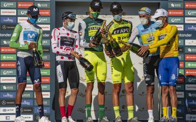 Amaro Antunes venceu a 82ª Volta a Portugal Santander