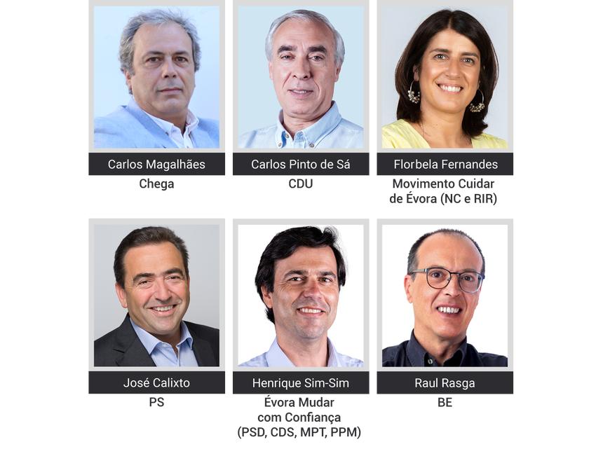 25 de Agosto, na RTP3: Debate com os candidatos a Évora nas Autárquicas 2021 (com Vídeo)
