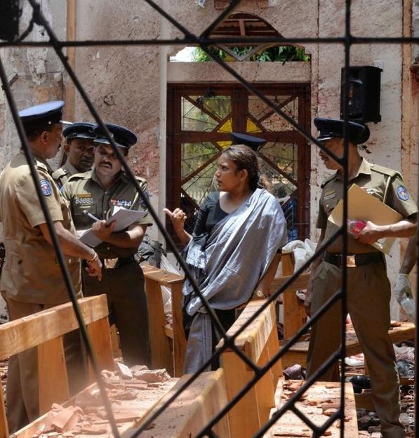 Autoridades investigam ligação entre os serviços secretos e os atentados bombistas no Domingo de Páscoa de 2019 no Sri Lanka
