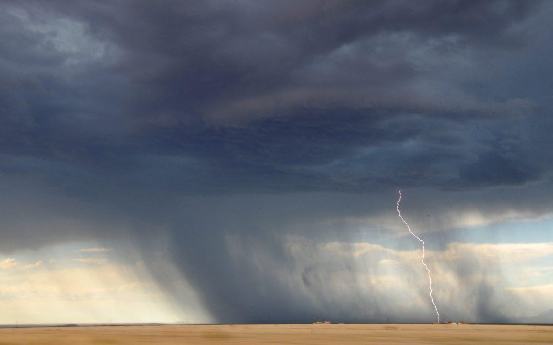 Meteorologia: Distrito de Évora em alerta amarelo nesta terça-feira devido a trovoada