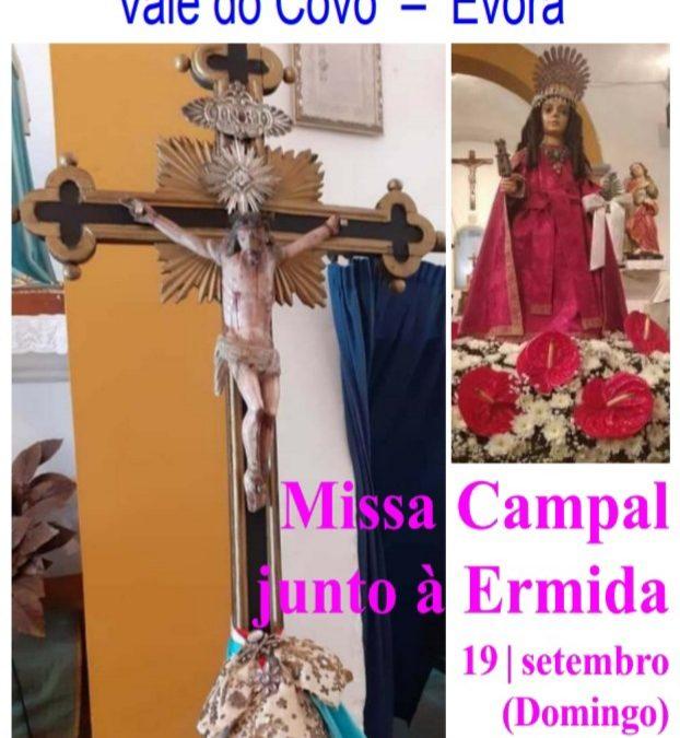 19 de Setembro, às 17h: Missa Campal junto à Ermida do Senhor Jesus dos Aflitos