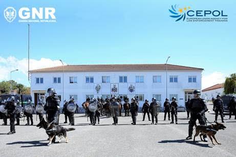 GNR organizou a 1.ª edição do CEPOL COURSE 70/2021 Public Order and Crowd Management – Security during Major Events (c/vídeo)