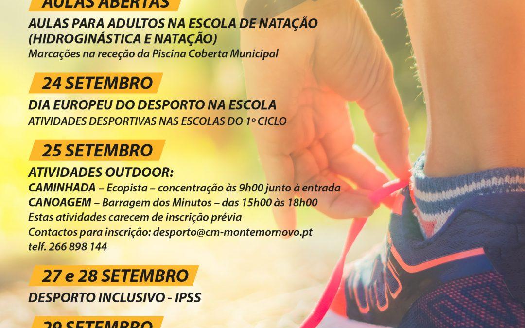 Montemor-o-Novo: Semana Europeia do Desporto