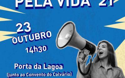 23 de outubro, às 14h30: Caminhada pela Vida realiza-se em Évora