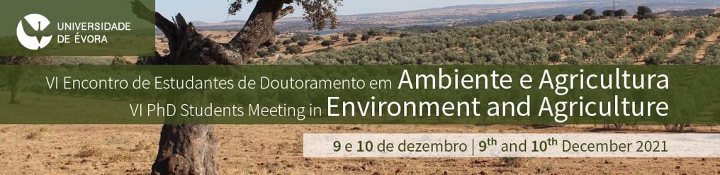 Encontro de Estudantes de Doutoramento em Ambiente e Agricultura