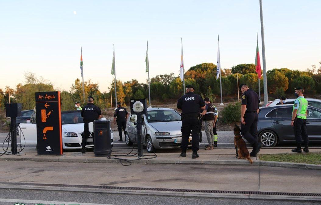 GNR/Évora: Detetadas mais de 260 infrações em operação especial de prevenção criminal