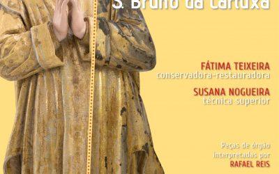 18 outubro, às 18h, com entrada livre: Conferência sobre a Conservação e restauro da escultura de S. Bruno da Cartuxa